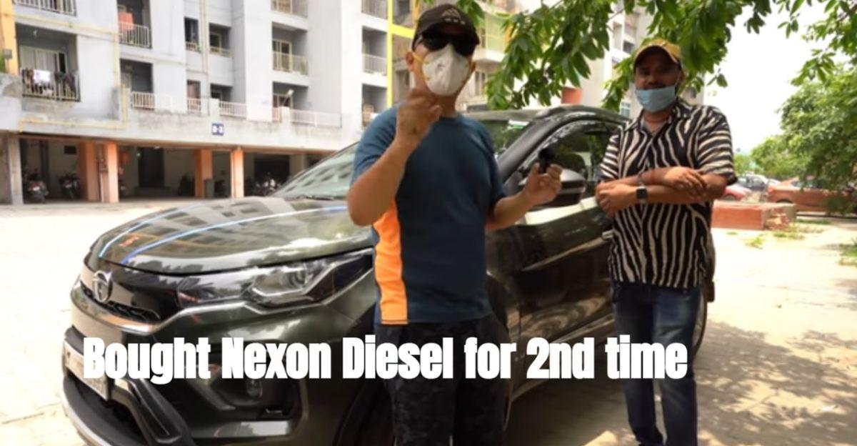 पहले वाले में 1.4 लाख किलोमीटर की दूरी तय करने के बाद प्रभावित मालिक ने दूसरी Tata Nexon खरीदी