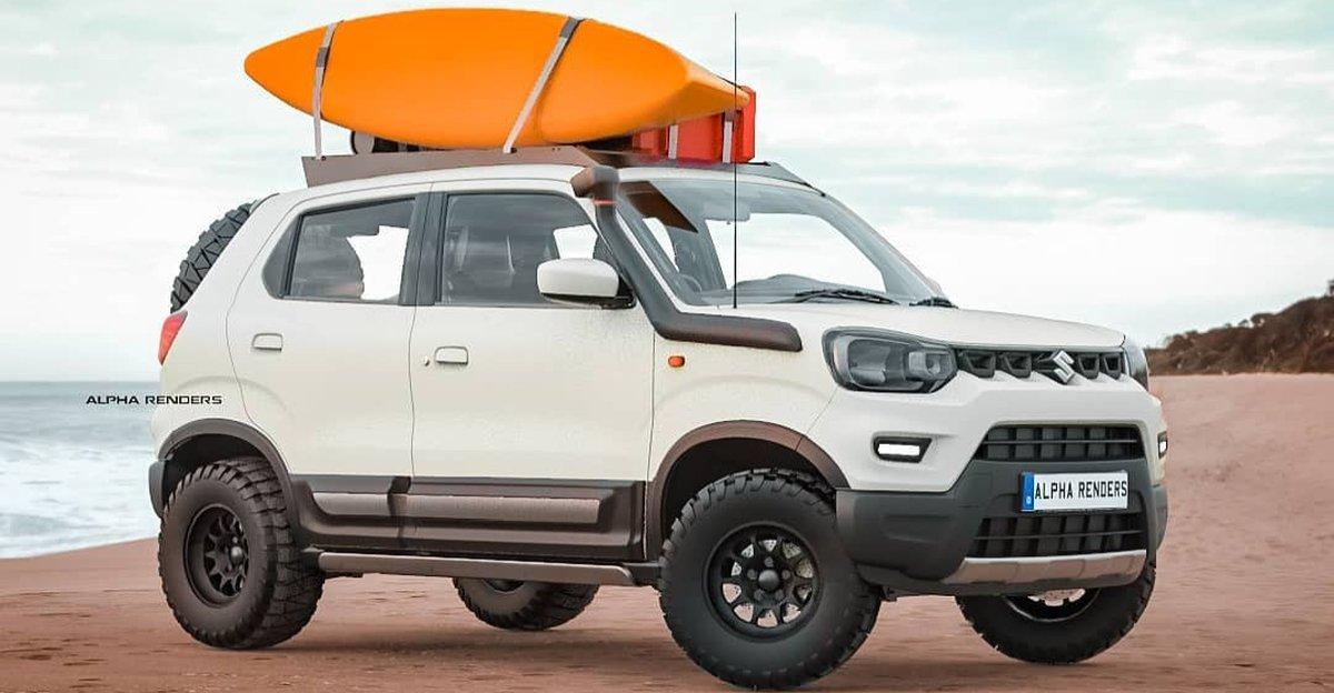 Maruti Suzuki S-Presso समुद्र तट एसयूवी के रूप में कल्पना