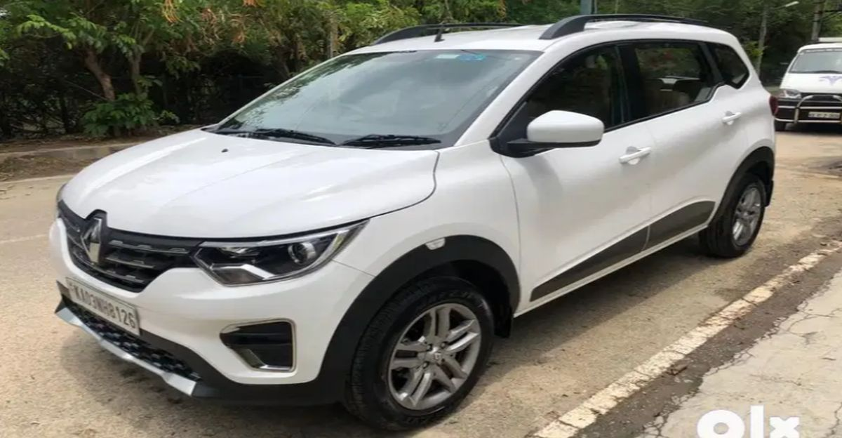 Sparingly Used Renault Triber MPV बिक्री के लिए