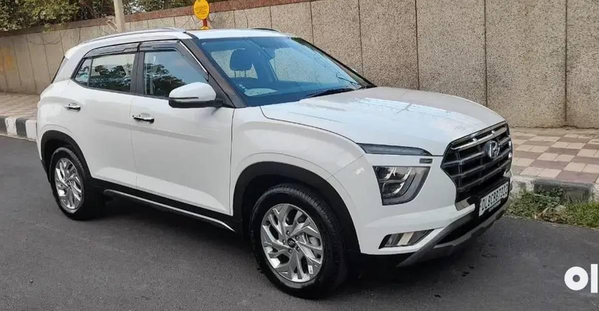 लगभग नई 2021 Hyundai Creta कॉम्पैक्ट SUVs बिक्री के लिए