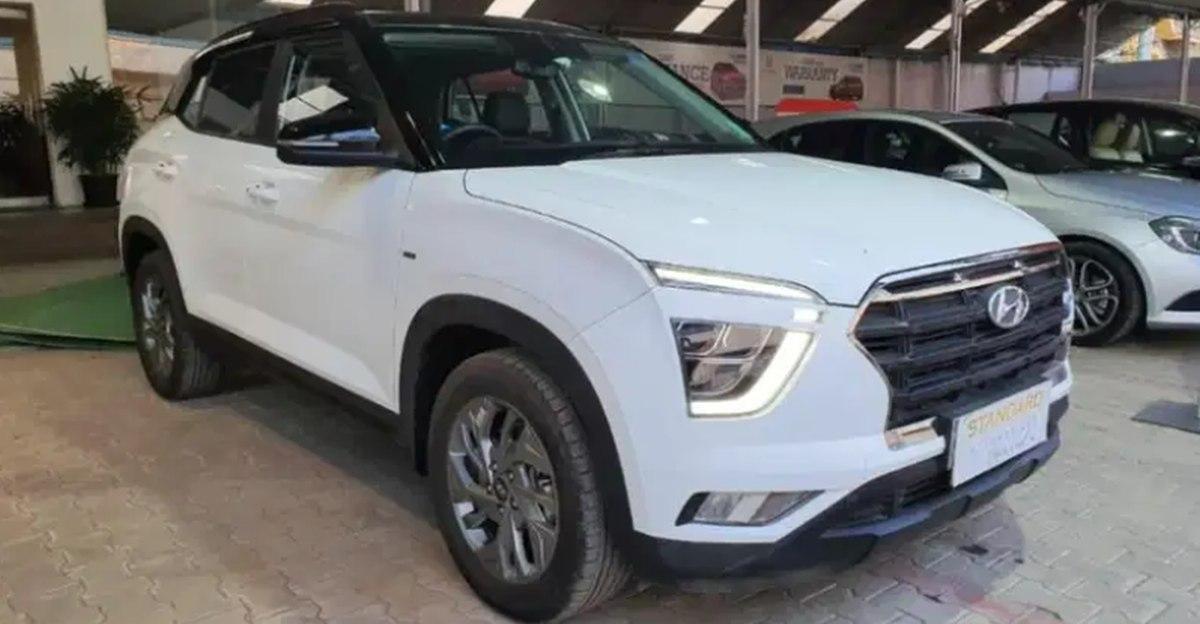 लगभग नई Hyundai Creta कॉम्पैक्ट SUV बिक्री के लिए: प्रतीक्षा अवधि छोड़ें