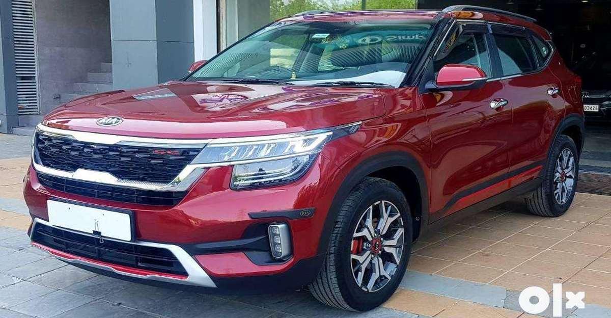 Sparingly used Kia Seltos twin क्लच ऑटोमैटिक टर्बो पेट्रोल SUV बिक्री के लिए