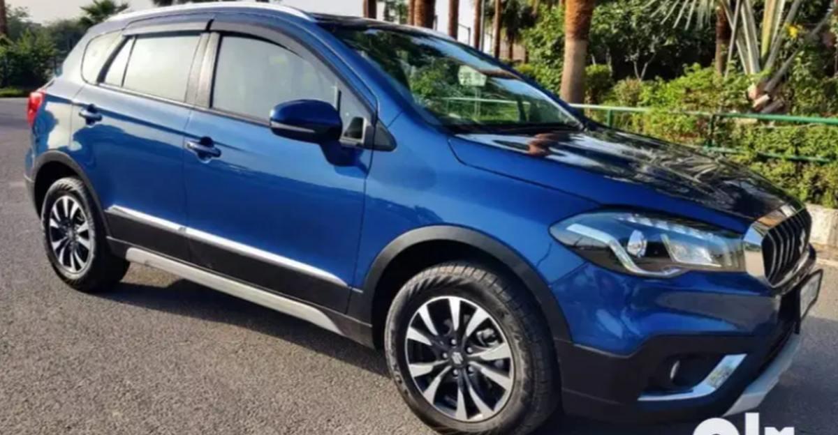 लगभग नई Maruti S-Cross Petrol कॉम्पैक्ट एसयूवी बिक्री के लिए