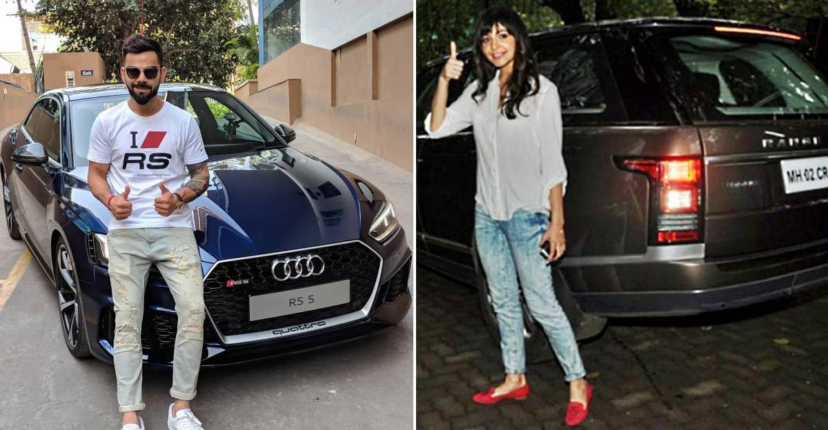 Virat Kohli और Anushka Sharma के कार गैरेज में: Range Rover से लेकर Bentleys तक