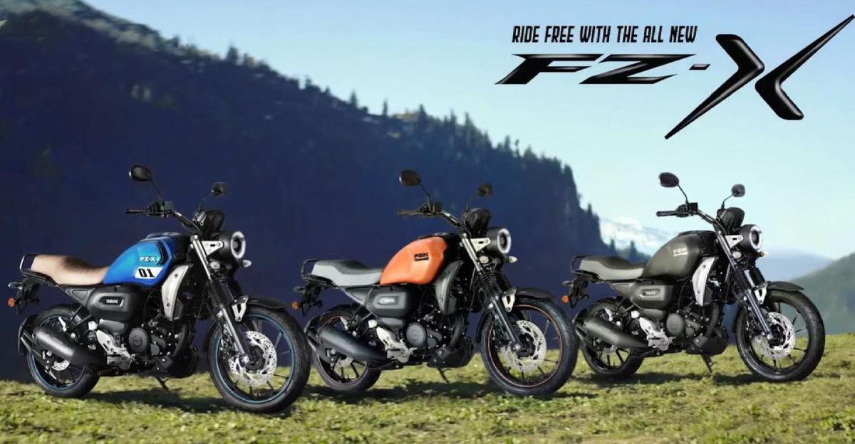 Yamaha FZ-X भारत में लॉन्च, कीमत 1.16 लाख रुपये से शुरू