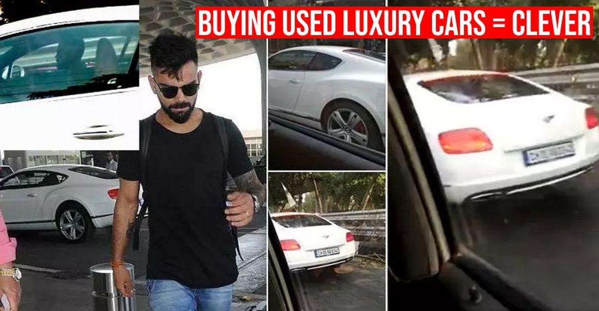 Virat Kohli से Shilpa Shetty तक: पुरानी लग्जरी कारें खरीदने वाली हस्तियां