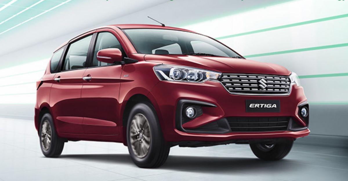 Maruti Suzuki Ertiga को जल्द ही CNG में ZXi वेरिएंट मिलेगा