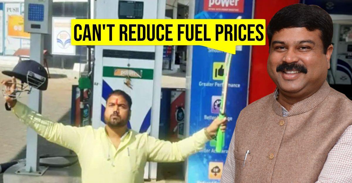 पेट्रोल और डीजल की कीमतें समस्याग्रस्त हैं, लेकिन उन्हें नीचे नहीं ला सकते: पेट्रोलियम मंत्री