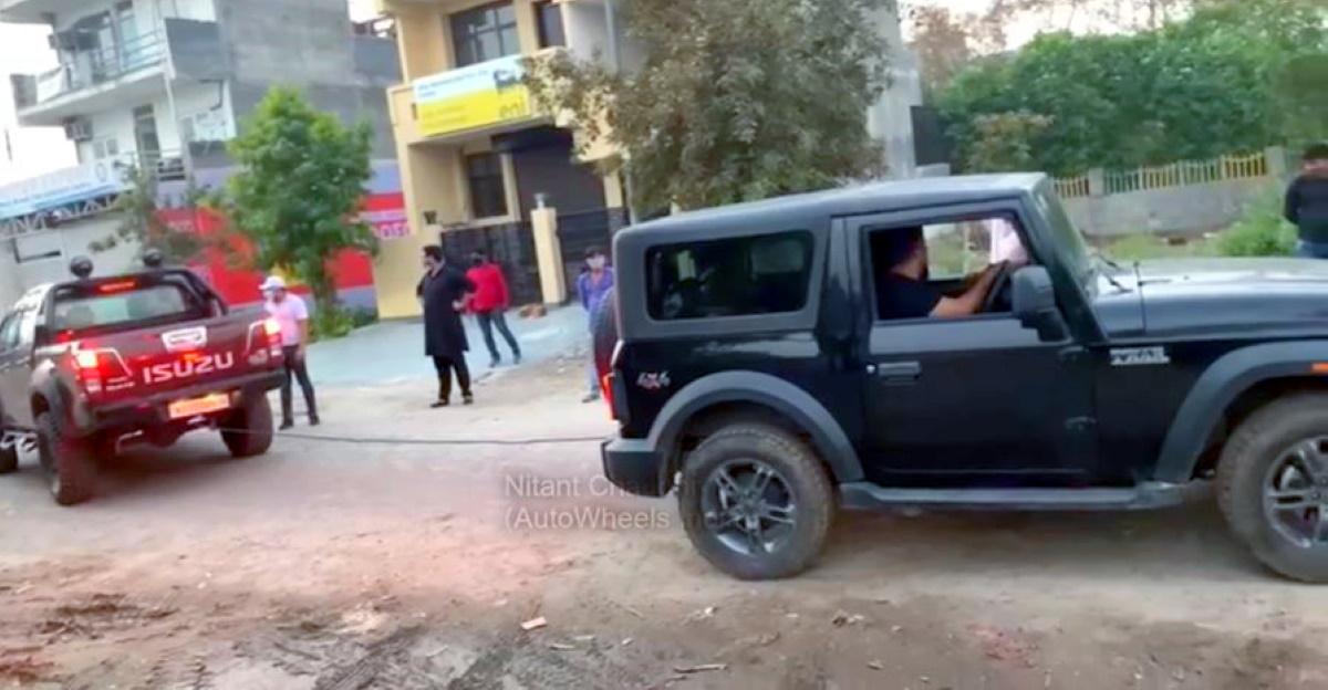 Isuzu V-Cross ने रस्साकशी में नई Mahindra Thar को ध्वस्त कर दिया: Thar के लिए क्या गलत हुआ? [वीडियो]