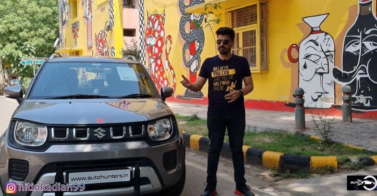 CNG के साथ भारत की पहली Maruti Suzuki Ignis AMT [वीडियो]