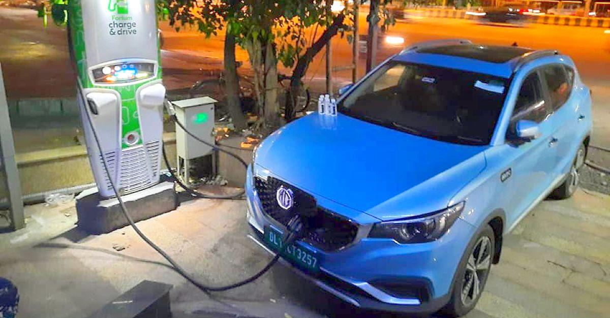 MG ZS इलेक्ट्रिक कार मालिक दिल्ली से पुणे ड्राइव करता है: इस तरह उसने ऐसा किया