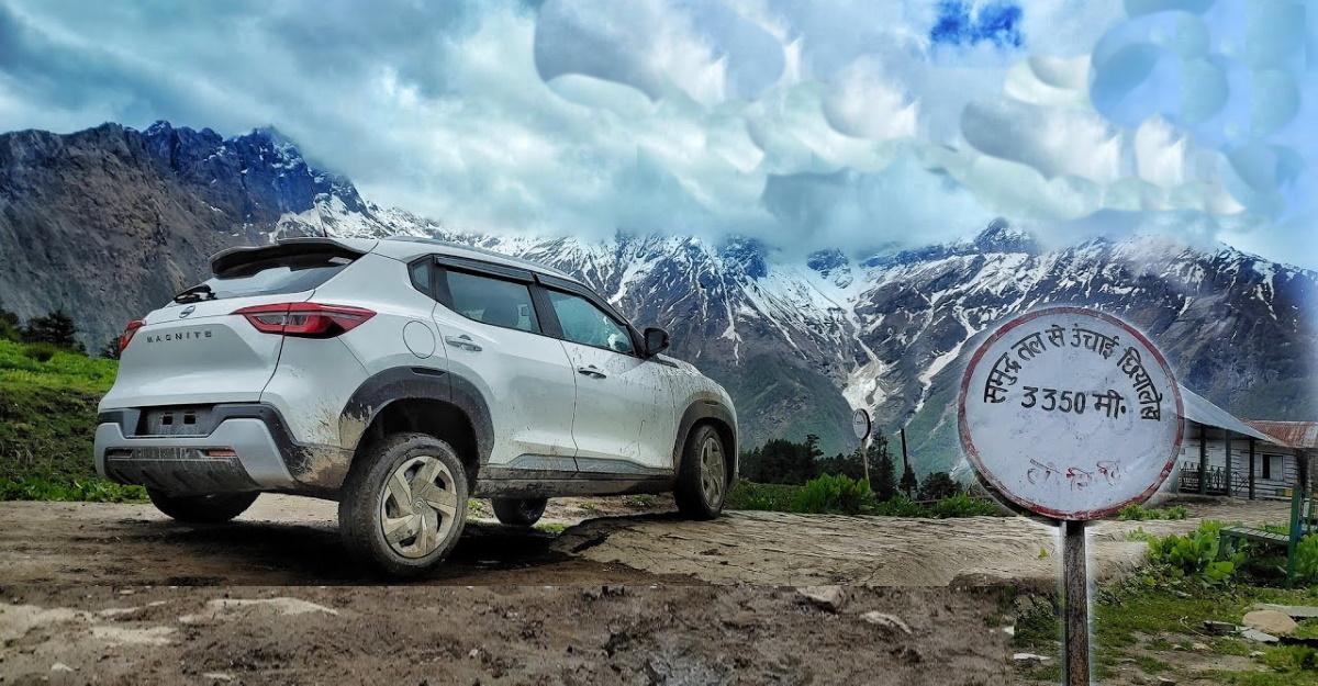 Nissan Magnite कॉम्पैक्ट एसयूवी खतरनाक पहाड़ी सड़कों पर अपनी ऑफ-रोडिंग दिखाती है [वीडियो]
