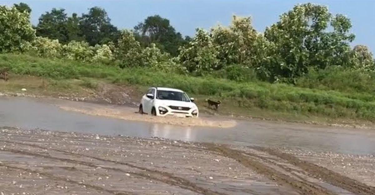 Tata Harrier में नदी पार करना: क्या आपको ऐसा करना चाहिए? [Video]
