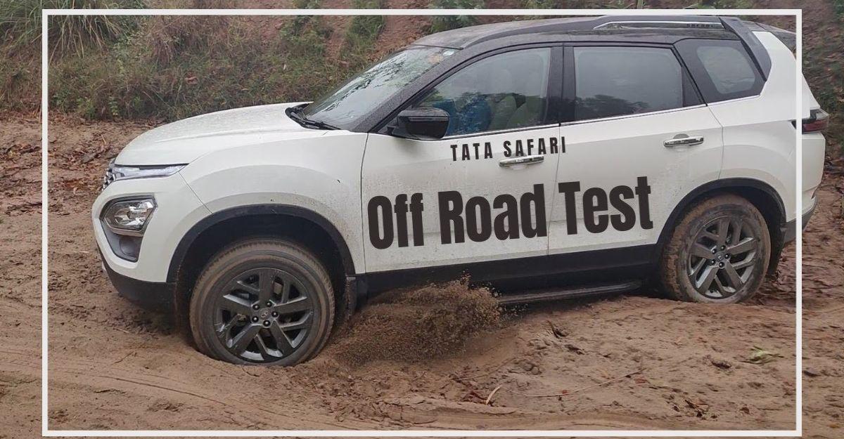 2021 Tata Safari के मालिक SUV को ऑफ-द-रोड ले जाते हैं