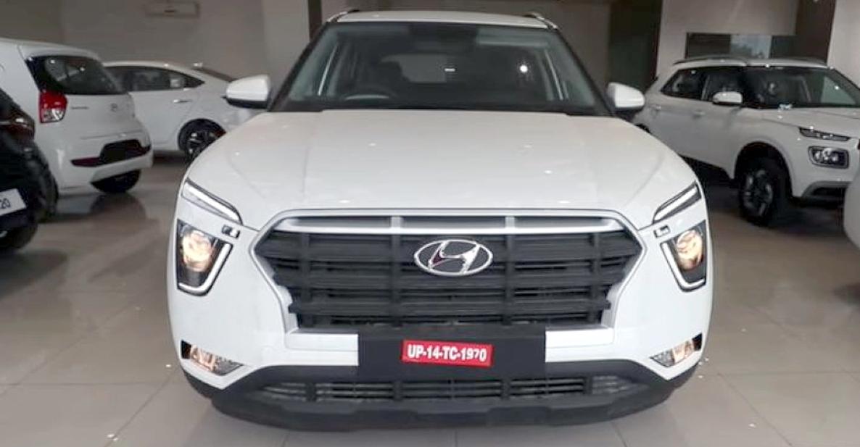 2021 Hyundai Creta 1.5 लाख रुपये के वास्तविक सामान के साथ स्थापित