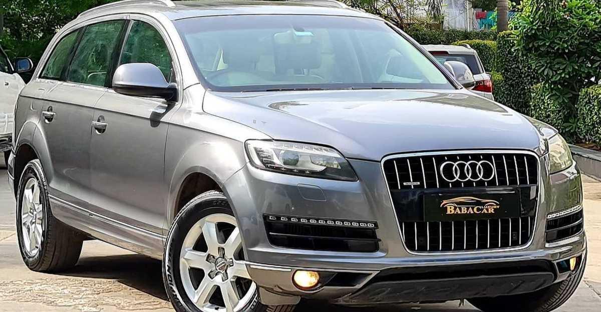 अच्छी रखरखाव वाली Audi Q7 लक्ज़री SUV Hyundai Creta कीमतों पर बिक रही है
