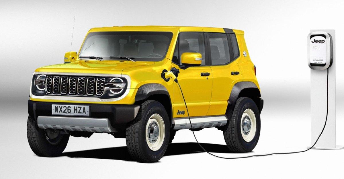 Jeep की Sub 4-Metre Compact SUV इलेक्ट्रिक वाहन के रूप में लॉन्च होगी