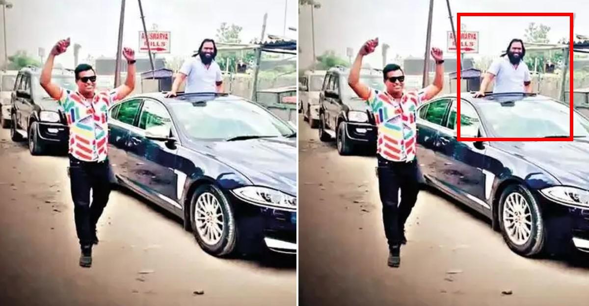 शराब तस्कर ने अपनी जेल से रिहाई का जश्न Jaguar के नेतृत्व वाली लग्ज़री कार काफिले में मनाया: फिर से गिरफ्तार