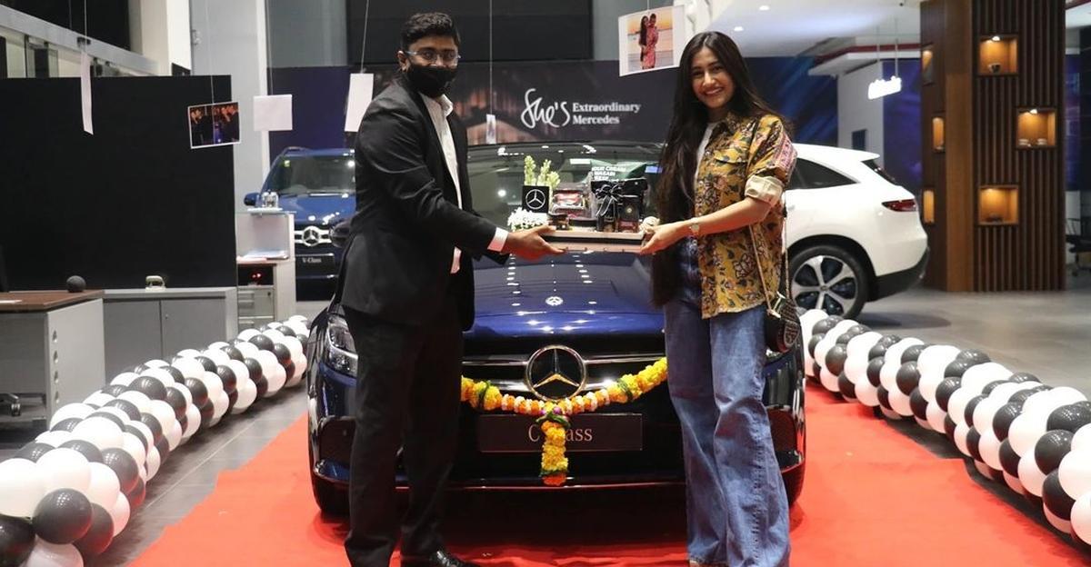 भारतीय क्रिकेटर युजवेंद्र चहल ने खरीदी शानदार Mercedes-Benz C-Class