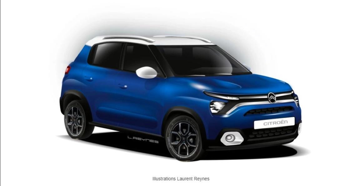 Citroen CC21 कॉम्पैक्ट SUV लॉन्च टाइमलाइन का खुलासा: Hyundai Venue को टक्कर देगी