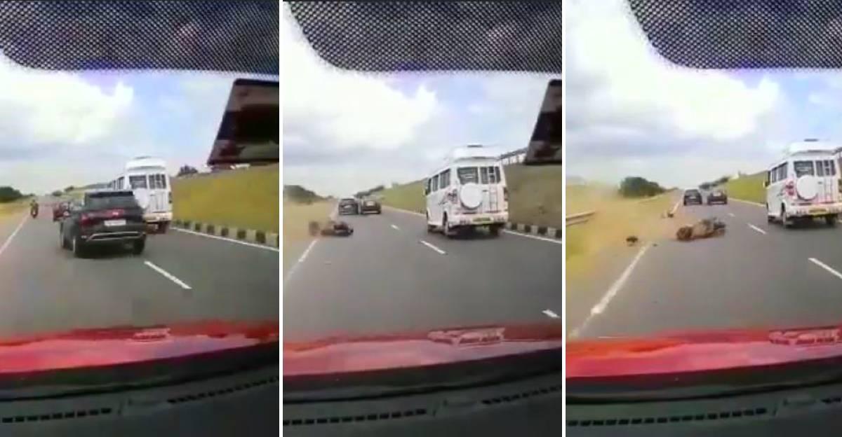 Hyundai Creta ने दोपहिया को टक्कर मार दी और भाग गए: पुलिस को Creta ड्राइवर की तलाश