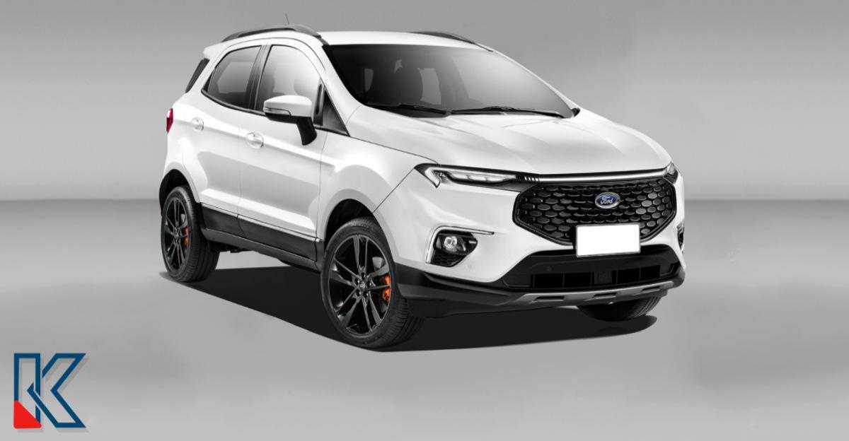 फेसलिफ़्टेड Ford EcoSport: यह कैसी दिखेगी