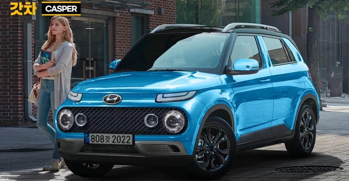 लॉन्च से पहले Hyundai Casper का प्रतिपादन: Maruti Suzuki Ignis को टक्कर देगी