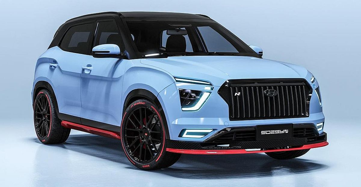 हाई-परफॉर्मेंस Hyundai Creta N: यह कैसी दिखेगी