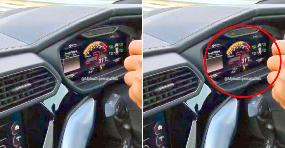 देखें भारत के सबसे तेज टेस्ट ट्रैक पर Lamborghini Urus ने 317 किमी प्रति घंटे की रफ्तार पकड़ी