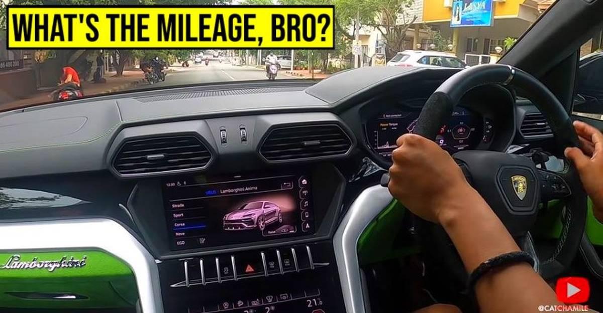 Lamborghini Urus सुपर एसयूवी का भारतीय सड़कों पर परीक्षण