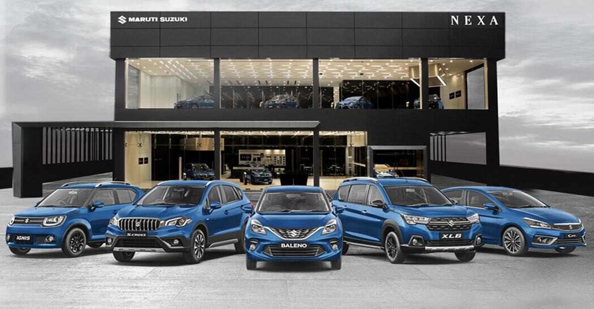 Maruti Suzuki के प्रीमियम ब्रांड NEXA ने पूरे किए छह साल; अब तक बिकीं 14 लाख वाहन
