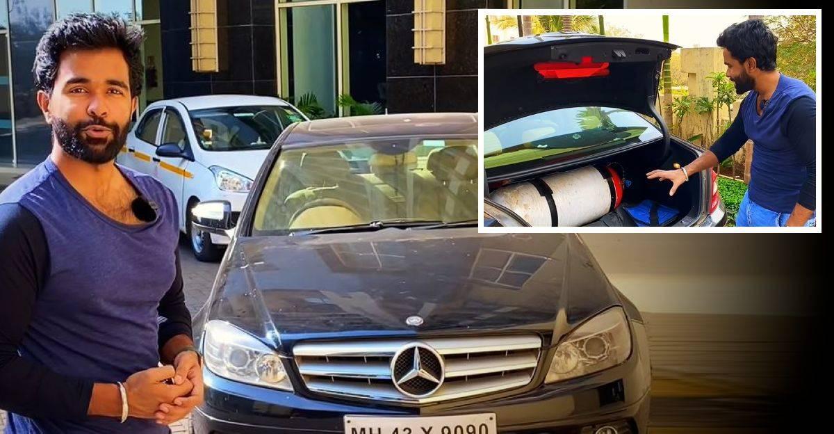 CNG पर Mercedes Benz C-Class सुपरचार्ज्ड सेडान चलाना: यह कैसा चलता है