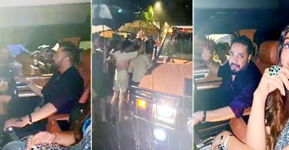 मुंबई की बारिश में टूटा बॉलीवुड सिंगर मीका सिंह का Hummer: मदद के लिए 200 इकट्ठा [वीडियो]