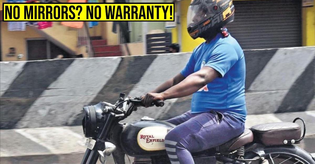 दोपहिया वाहनों के शीशे हटाने पर वारंटी नहीं: हाईकोर्ट