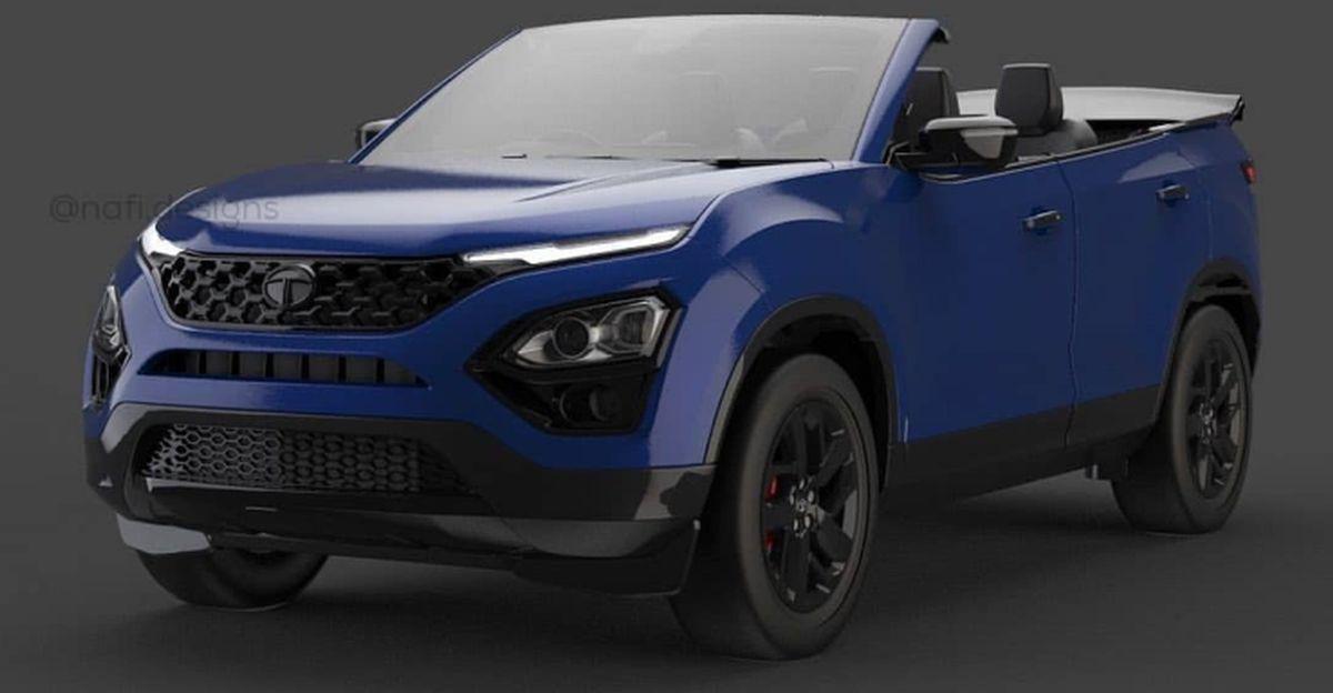2021 Tata Safari Cabriolet : यह कैसी दिखेगी