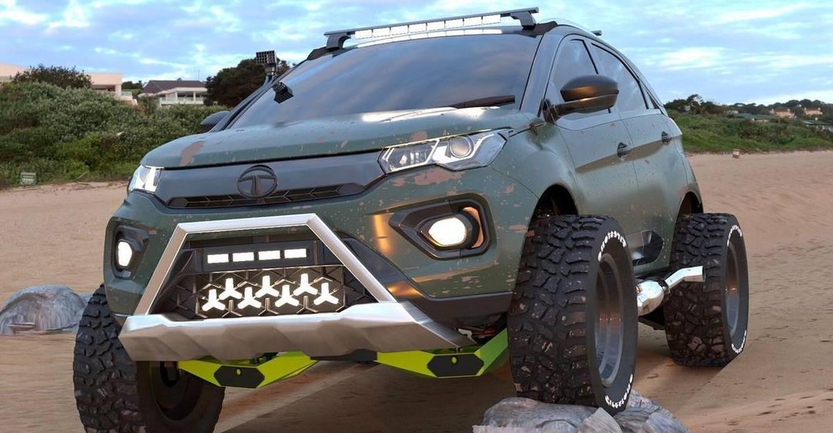 Tata Nexon कॉम्पैक्ट SUV की एक कट्टर ऑफ-रोडर के रूप में फिर से कल्पना की गई