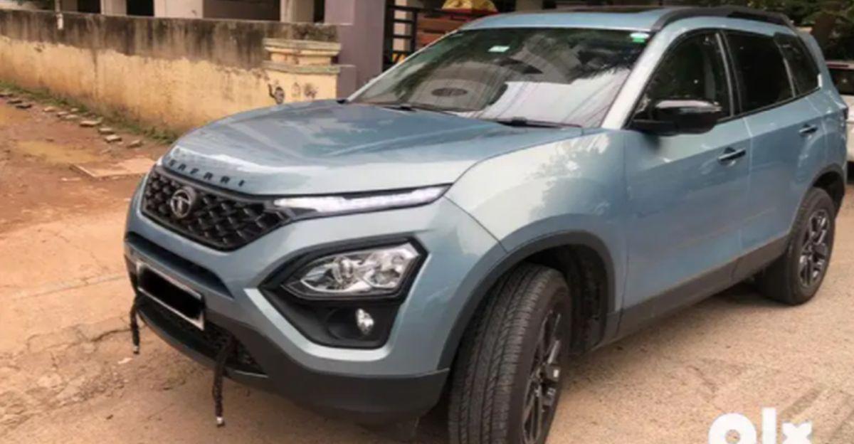 लगभग-नई 2021 Tata Safari SUV बिक्री के लिए