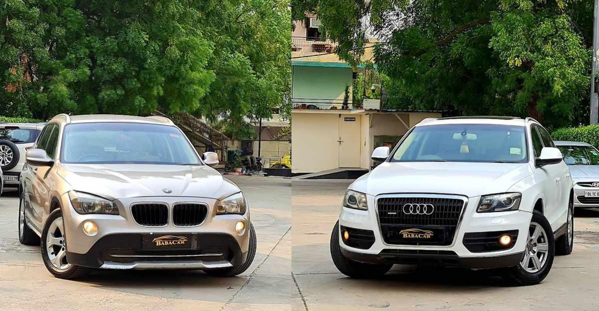 पुरानी BMW X1 और Audi Q5 लग्जरी SUVs 10 लाख रुपये से कम में बिक रही हैं