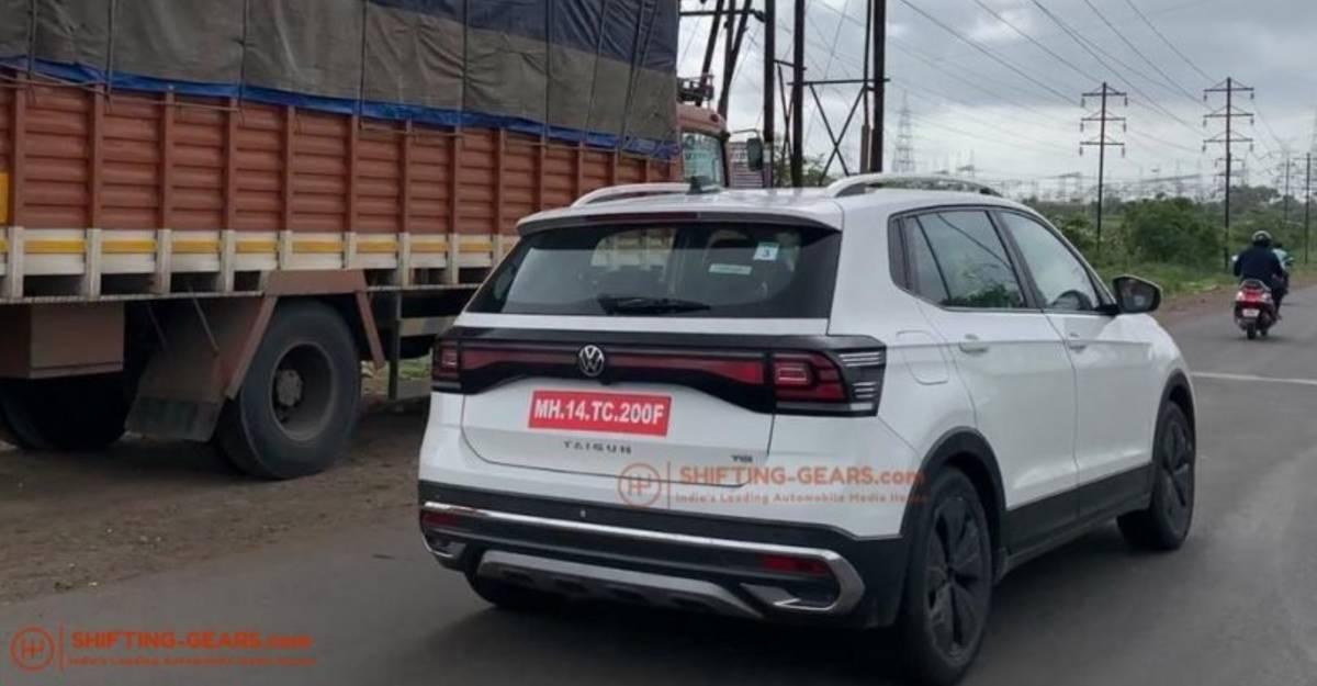 Volkswagen Taigun कॉम्पैक्ट एसयूवी लॉन्च के लिए तैयार: Hyundai Creta प्रतिद्वंद्वी के नए जासूसी शॉट्स