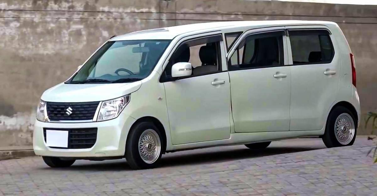 Maruti Suzuki WagonR Limousine रूपांतरण की लागत सिर्फ 2.3 लाख रुपये