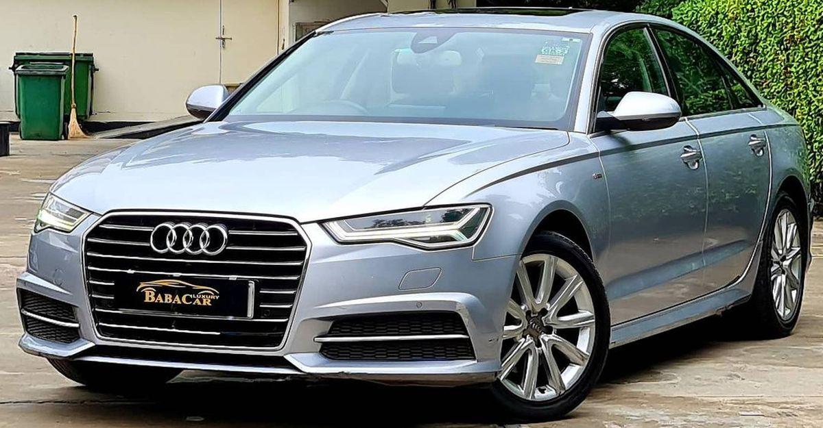 अच्छी तरह से रखी Audi A6 लग्जरी सेडान Honda City से सस्ती बिक रही है