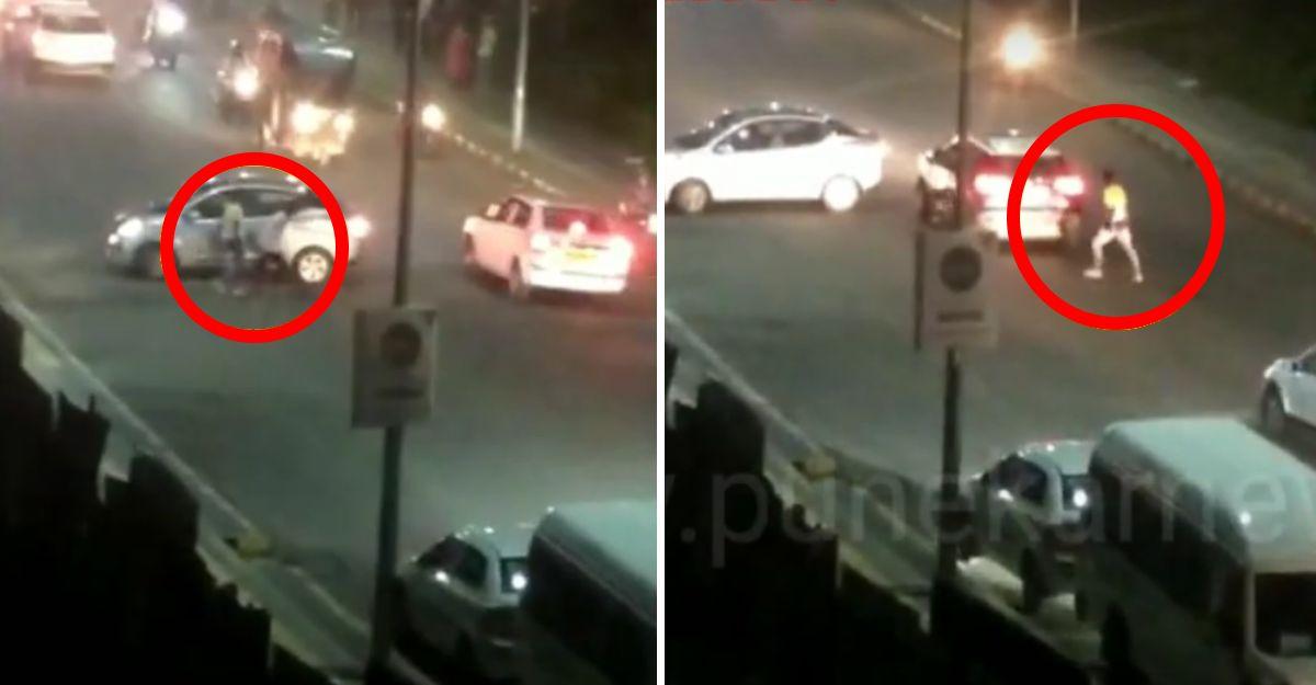 पुणे में गुंडों ने कारों और बाइक पर चाकूओं से किया हमला: गिरफ्तार