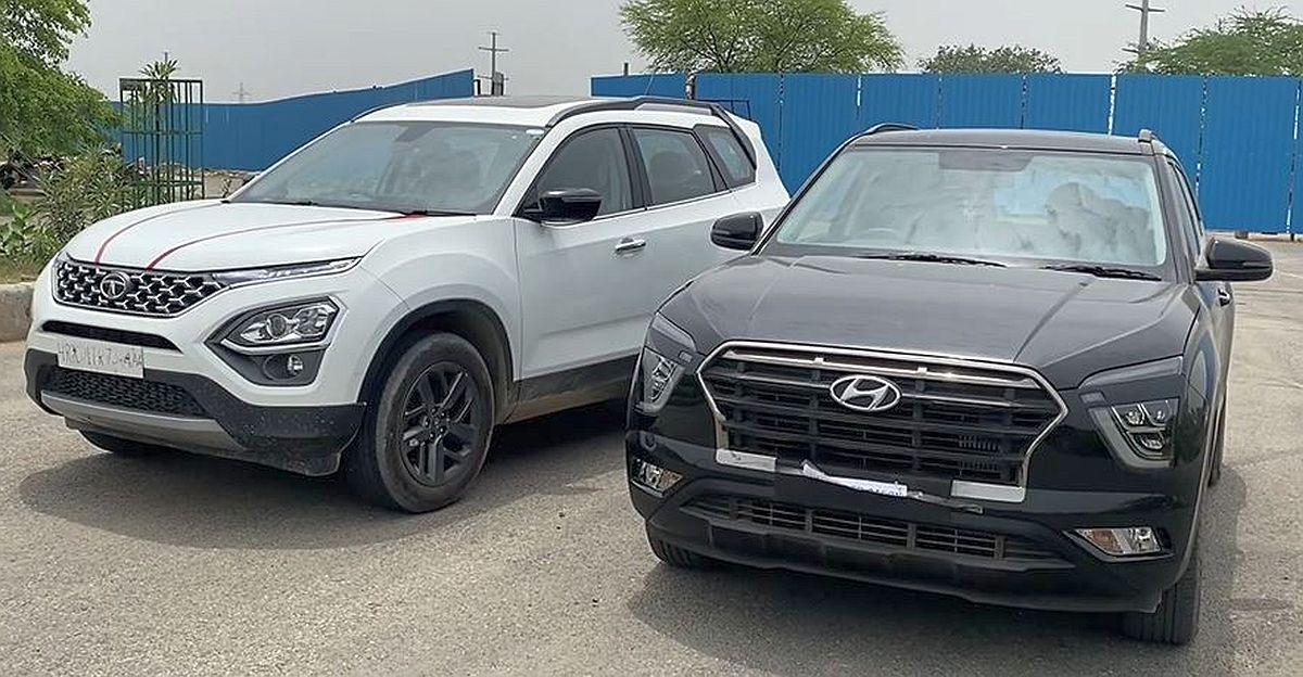 ड्रैग रेस में Tata Safari डीज़ल बनाम Hyundai Creta टर्बो पेट्रोल