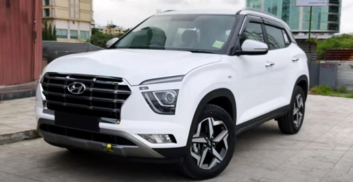 Alcazar Alloy Wheels के साथ भारत की पहली संशोधित Hyundai Creta