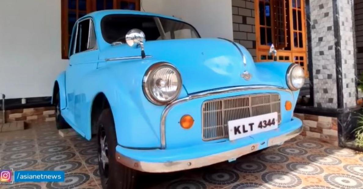 देखें 73 वर्षीय Morris Minor कार – एक कार जो कभी भारत में बेची जाती थी – वीडियो पर
