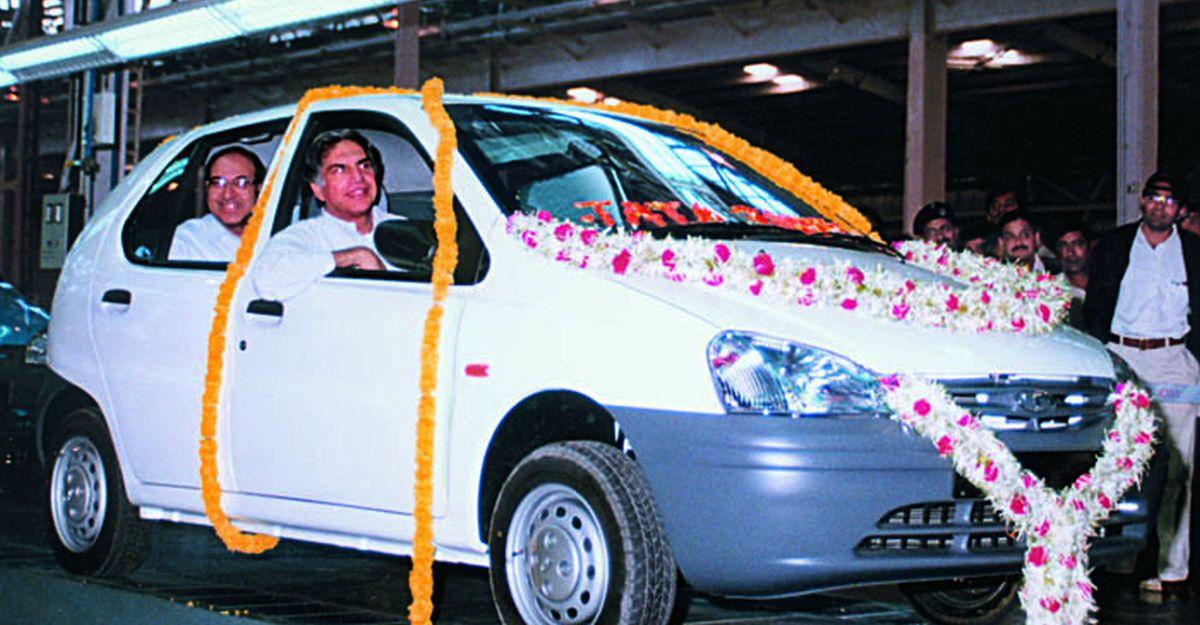ऑटो एक्सपो 1998 में रतन टाटा द्वारा Tata Safari & Indica को लॉन्च करते हुए दुर्लभ वीडियो