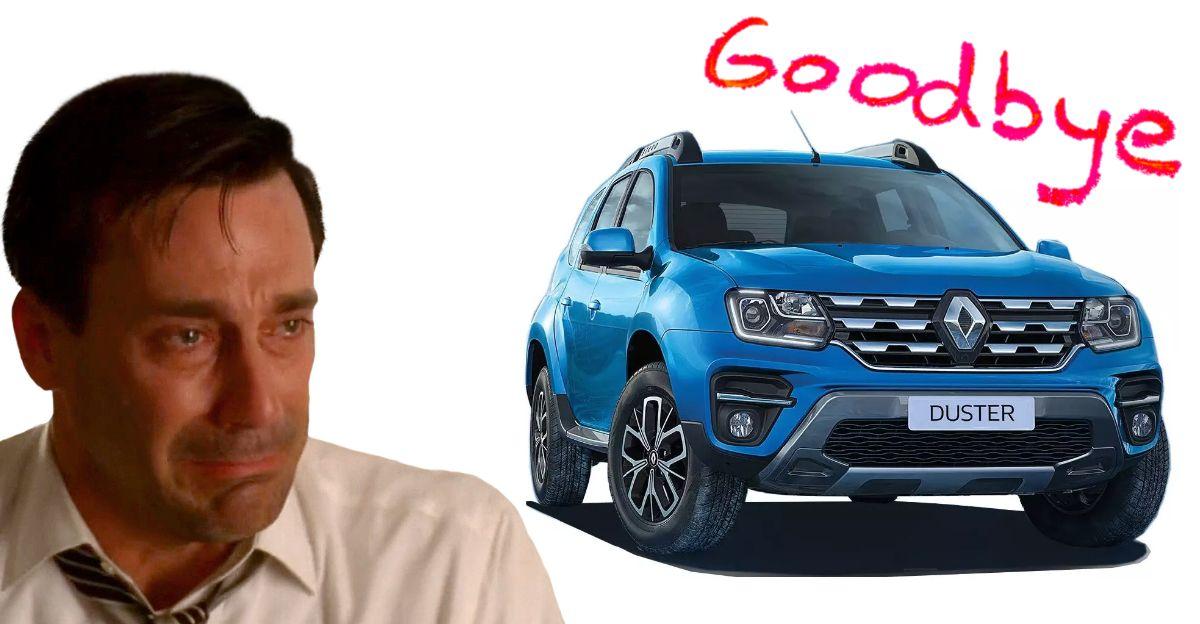 भारतीय बाजार में Duster को बंद करेगी Renault