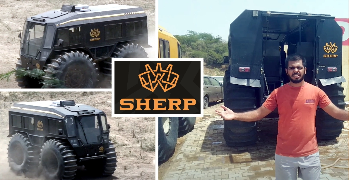 Sherp N1200: सबसे सक्षम ऑफ-रोडर की समीक्षा जिसकी कीमत 1.3 करोड़ रुपये है [वीडियो]