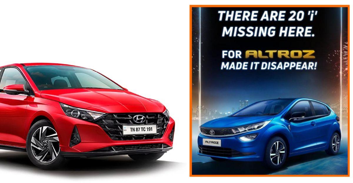 Tata Motors ने Hyundai को ट्रोल किया क्योंकि Altroz ने i20 प्रीमियम हैचबैक को पछाड़ दिया