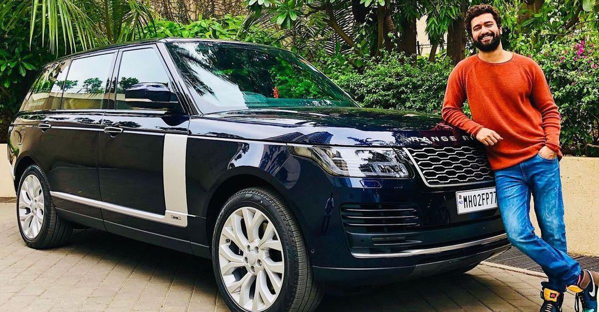 बॉलीवुड अभिनेता विक्की कौशल की नवीनतम सवारी एक बहु-करोड़ Range Rover Autobiography लक्जरी एसयूवी है